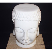 Nordic Style Buddha Elephant Round Stool Ceramic Art&Craft Leisure Animal Chair Stool Mall Commercial Home Interior Design L3379
