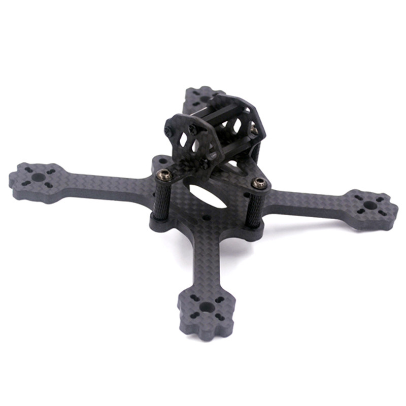 Free Shipping X3 EYAS 112mm Wheelbase 3mm 4mm Thickness Carbon Fiber FPV Racing Frame for RC Racer Drones Quadcopter Spare Parts free shipping car refitting dvd frame dvd panel dash kit fascia radio frame audio frame for 2012 kia k3 2din chinese ca1016