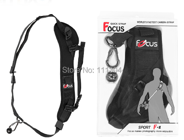 High Quality Carry Speed Belt soft Shoulder Foucs F1 Quick Rapid Camera Single Shoulder Sling Black Belt Strap for DSLR Camera
