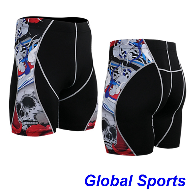 Life on Track sport shorts skulls printed men baseball wear clothes famous brand size s 4xl