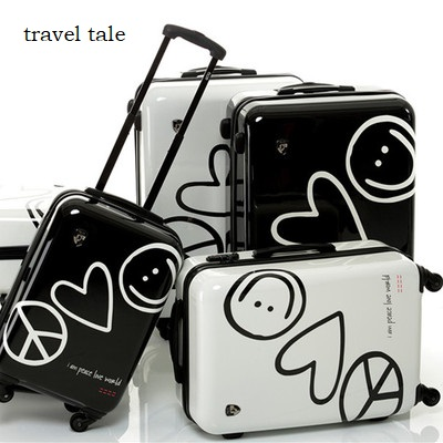 love  travel tale high quality super love 20/24 inches PC Rolling Luggage Spinner Travel Suitcase Unisexlove  travel tale high quality super love 20/24 inches PC Rolling Luggage Spinner Travel Suitcase Unisex