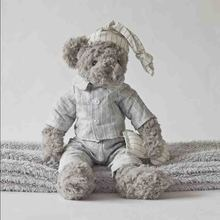 Hot sale gray  teddy bear doll plush  toys Valentine's day gifts