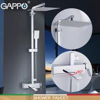 GAPPO shower Faucet wall mounter brass shower griferia bathroom rainfall shower set shower heads waterfall faucets