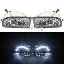 Led nebelscheinwerfer Scheinwerfer für TOYOTA LAND CRUISER 100 LC 100 1998 2008 LED DRL Scheinwerfer Fahr Lampe nebel licht UZJ 100 FZJ 100