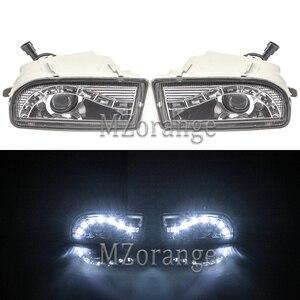 MIZIAUTO Fog Lights For TOYOTA LAND CRUISER 100 1998-2008 LED DRL Headlights Headlight Driving Lamp LC100 UZJ100 FZJ100 HDJ100