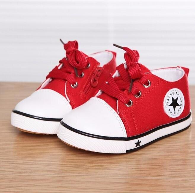 2017 Nem Summer Spring Canvas obuwie dziecięce Star Fashion Sneakers - Obuwie dziecięce - Zdjęcie 5