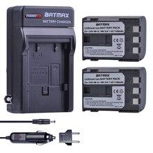 2 шт. NB-2L NB 2L NB2L NB-2LH BP-2L5 1100 мАч Перезаряжаемые литий-ионный Батарея и Зарядное устройство для камеры CANON 350D 400D G7 G9 S30 S40 z1
