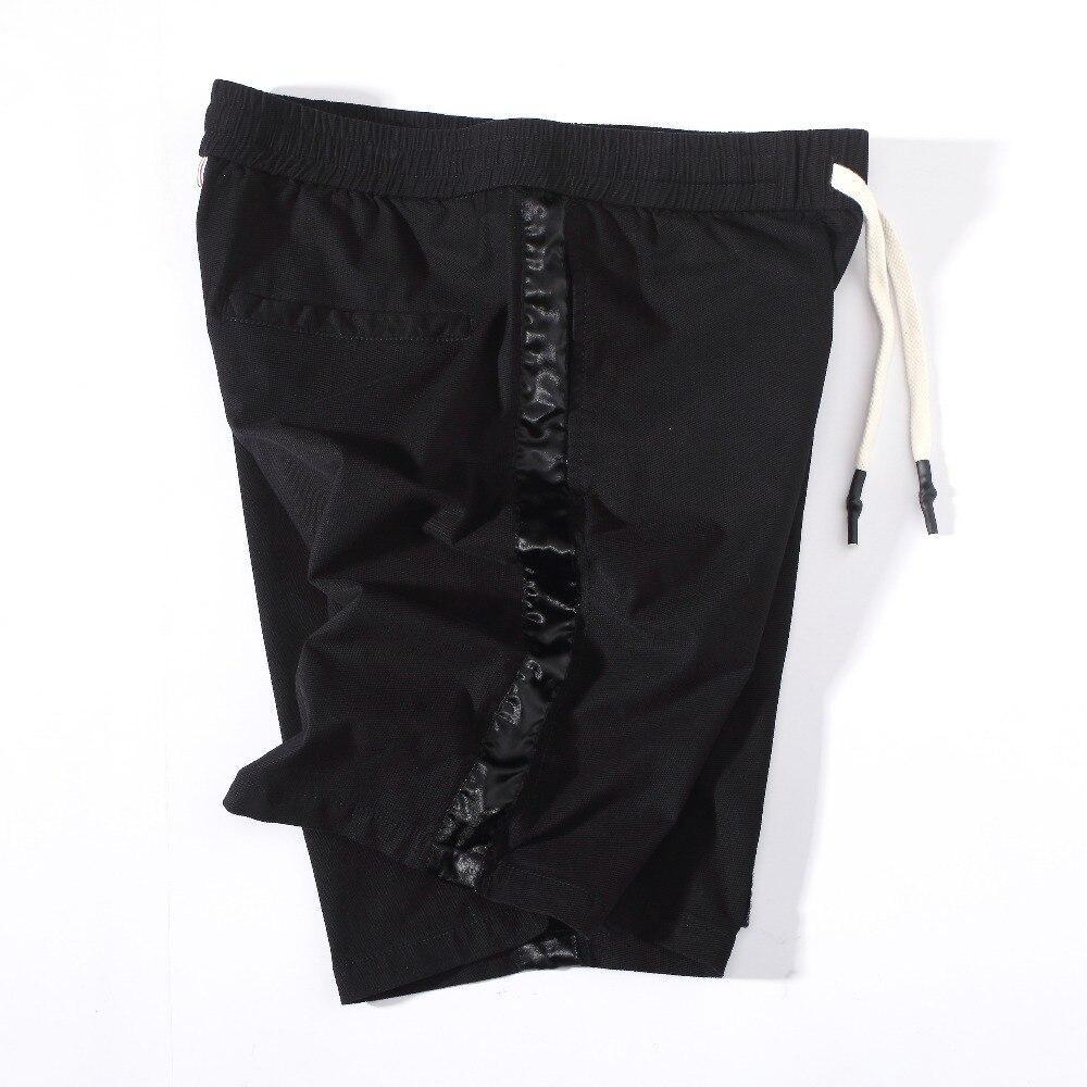 Shop2946159 Store 2017 Summer Hot Men Beach Shorts Quick Dry Printing Board Shorts Men Cotton Black Color Casual  Loose Runing Shorts DPC20