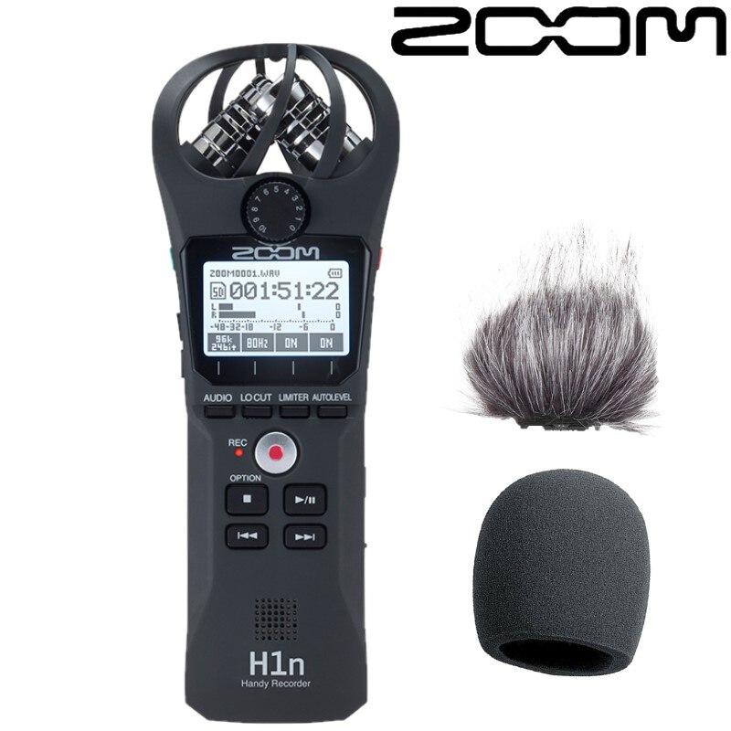 ZOOM H1N profesjonalny przenośny ręczny cyfrowy rejestrator Stereo długopis z funkcją nagrywania na rozmowę kwalifikacyjną SLR mikrofon do nagrań w Dyktafon cyfrowy od Elektronika użytkowa na  Grupa 1