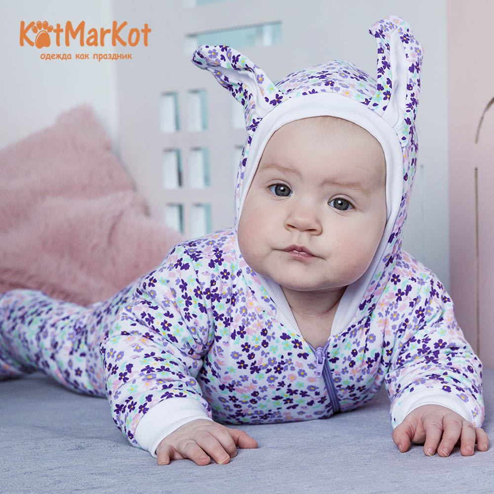Rompers Kotmarkot 6996  overalls for newborn cat sotmarkets sandpiper baby clothes romper Cotton cat sotmarket Baby Girls Floral