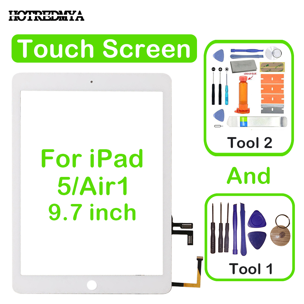 9.7 air Touch Screen Digitizer For Apple iPad 5 Air1 A1474 A1475 A1476 Front Glass Display Touch Panel Replacement+Repair Tools9.7 air Touch Screen Digitizer For Apple iPad 5 Air1 A1474 A1475 A1476 Front Glass Display Touch Panel Replacement+Repair Tools