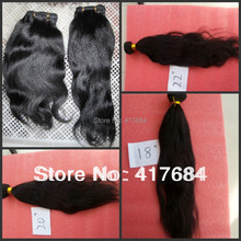indian remy hair natural black double sealer no shedding no tangle for african american light yaki hair weft