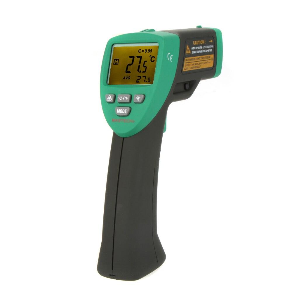 ФОТО MASTECH MS6530 12:1 Non-contact Infrared IR Thermometer Laser Temperature Gun Meter Sensor Range -20~537 Degree