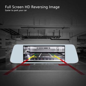 Image 3 - JADO D560 rejestratory samochodowe 6.86 ekran LCD Full HD 1080 P rejestratory samochodowe rejestrator na lusterko wsteczne Dash cam rejestrator