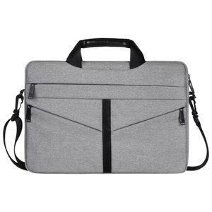 Image 2 - Universal Laptop Bag 13 14 15 inch Notebook Bag Laptop Messenger Computer Shoulder Bag Briefcase Case Cover for Macbook HP DELL