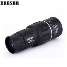 BRESEE High quality Waterproof 16X52 Dual Focus Zoom Optic Lens Day Night Vision Monocular Telescope Travel Hunting 66m/8000m