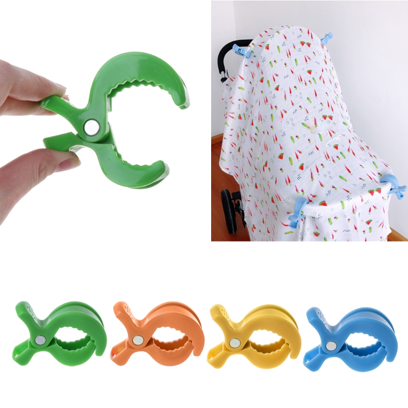 Baby Car Seat Accessories Toy Lamp Pram Stroller Peg To Hook Cover Blanket Clips-in Strollers