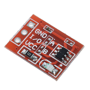 Image 4 - 10PCS TTP223 Touch Key Switch Module Touching Button Self Locking/No Locking Capacitive Switches Single Channel Reconstruction