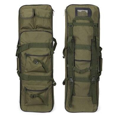 85 cm 100 cm 120 cm tactique chasse sac à dos carré pistolet sac de transport avec bandoulière pistolet étui de Protection Airsoft poche sacs à dos