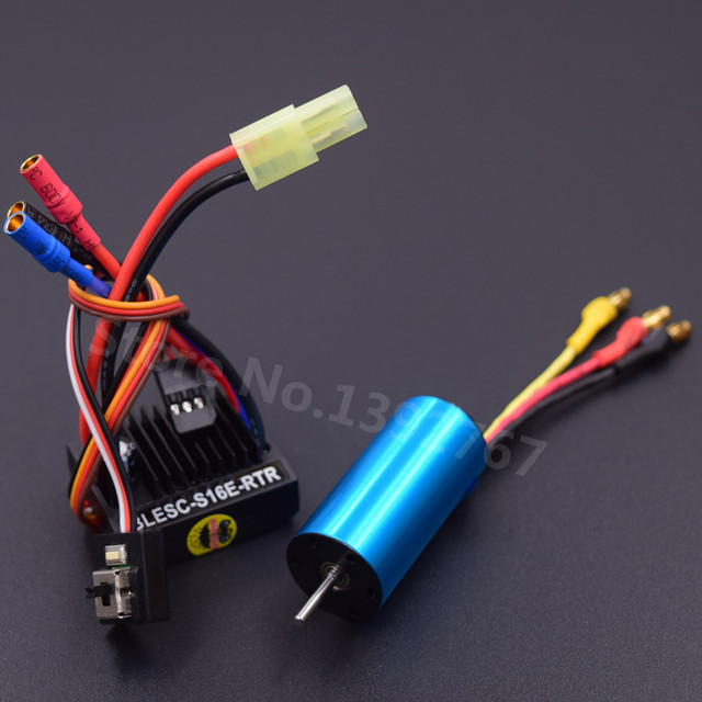 Powerful Brushless Modification Kit 2040 Brushless Motor 4800KV & 25A ESC For RC Car WLtoys 1/18 Scale Models A959 A969 A979
