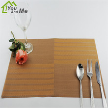 45 30cm PVC Placemat Dining Tables Mat Bar Mat Waterproof Kitchen Accessories Dining Bowl Pad Table
