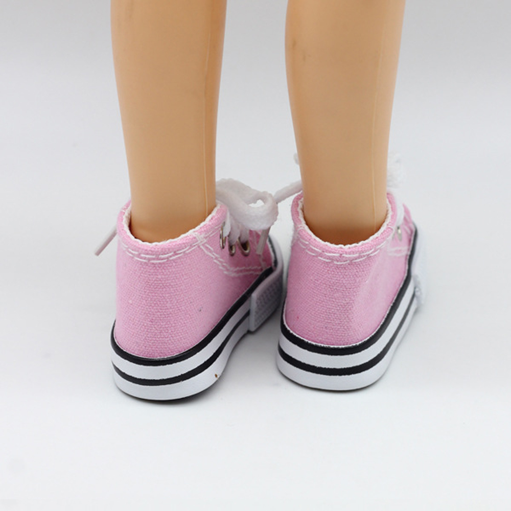 New Fashion Baby Born Doll Shoes Sport Style Shoes Canvas Shoes Fits 43 cm Zapf Dolls Baby Born and 16 American Girl 13 BJD 6