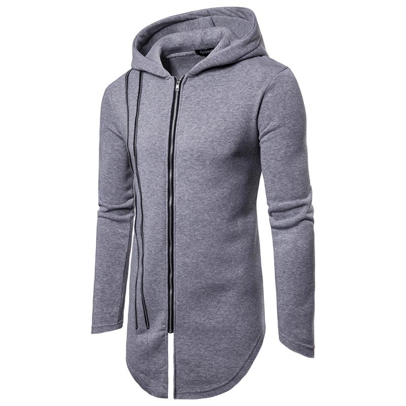 Custom Longtail Zipper Hoodie 12