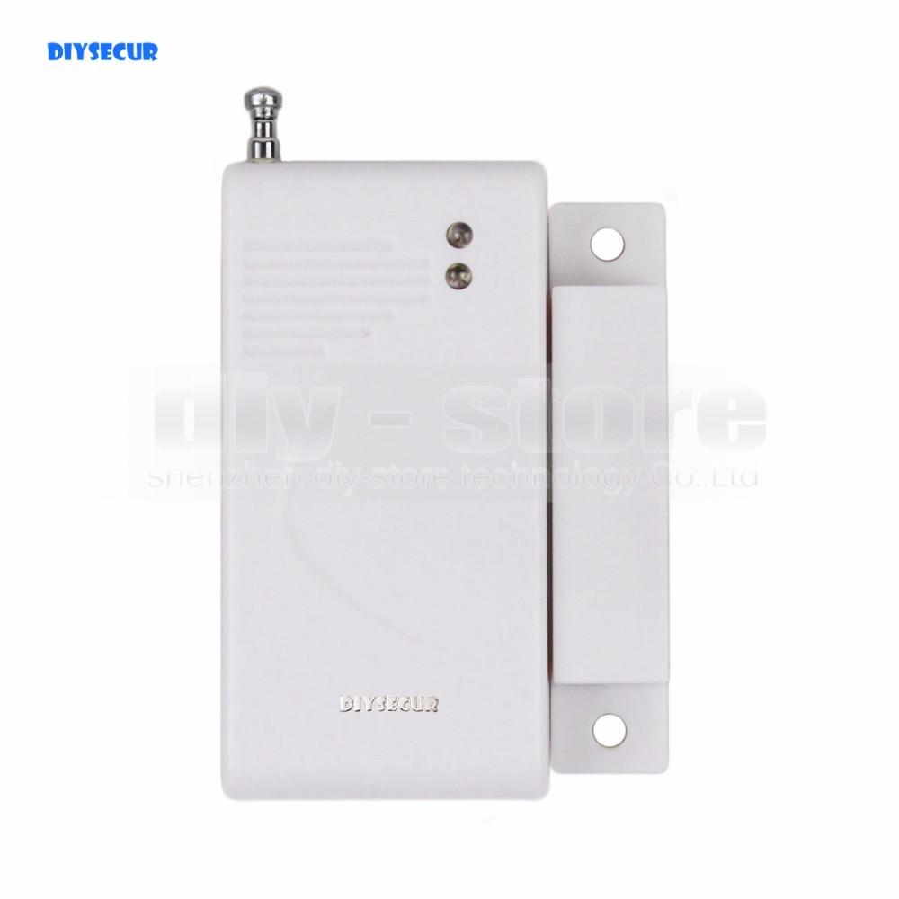DIYSECUR K2 Wireless 433Mhz Door Magnetic Sensor for Our Related Home font b Alarm b font