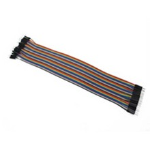 40pcs in Row Dupont Cable 20cm 2.54mm male to male jumper wire for Arduino