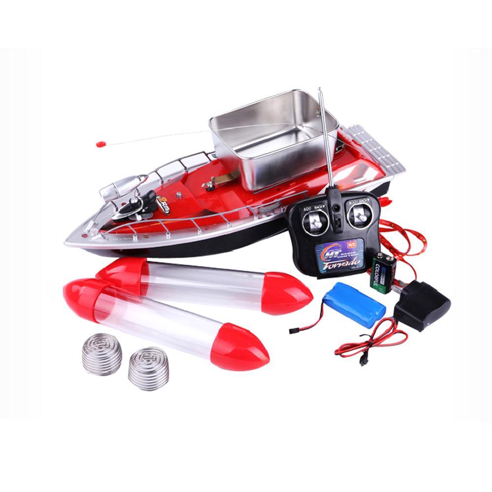 LED lumières télécommande bateau jouet pour enfants enfants haute vitesse course RC bateau 4CH 2.4 Ghz contrôle Distance hors-bord jouets amusants