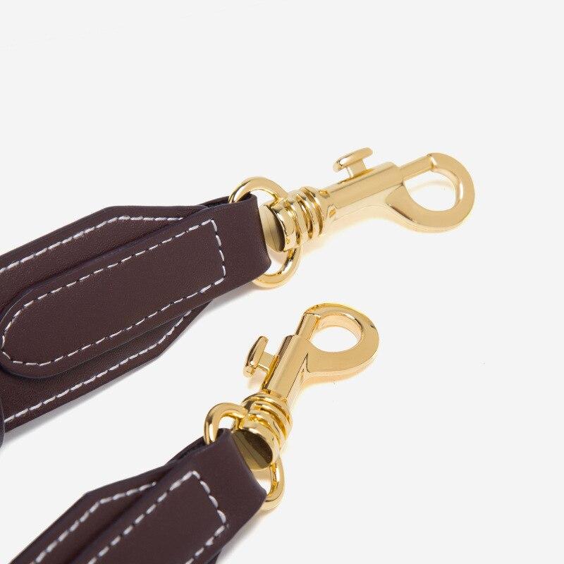 Nieuwe Vrouwen emmer tas Echt Leer Koeienhuid Draad designer Composite messenger Bag Crossbody Winkelen handtas met 2 bandjes - 4