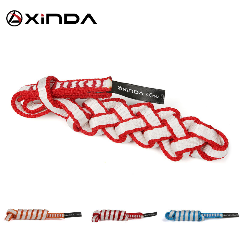 Xinda Outdoor Rock Climbing Equipment Mountaineering Belt Support Protective Sling High Strength Wearable Safety Belts Sling