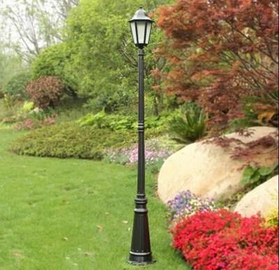 LED étanche jardin éclairage extérieur Villa cour parc pelouse paysage éclairage luminaires Para Jardim colonne paysage lampe