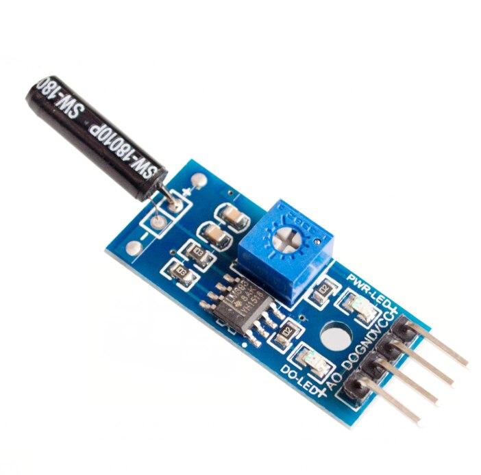Normalmente aperto modulo sensore di scossa per allarme modulo sensore di vibrazione