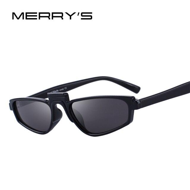 650734fd811a66 MERRY S CONCEPTION Femmes Mode Petit Cat Eye lunettes de Soleil UV400  Protection S 6077