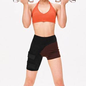 Регулируемый поддерживающий пояс для паха для мужчин и женщин, компрессионный спортивный облегающий ремень для талии, защита для бедра