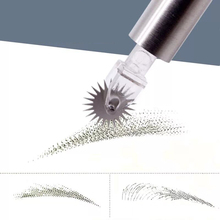 20pcs Tattoo Supplies Disposable Microblading Needles for Embroidery Eyebrow Permanent Makeup Accessories Blade with Manual Pen