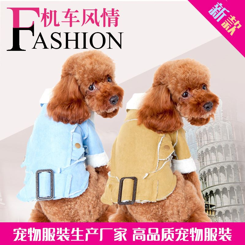 The dog dog font b clothes b font qiu dong The locomotive amorous feelings Europe and