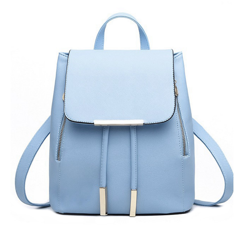 Fashion Women Backpack Casual Leather School Backpack For