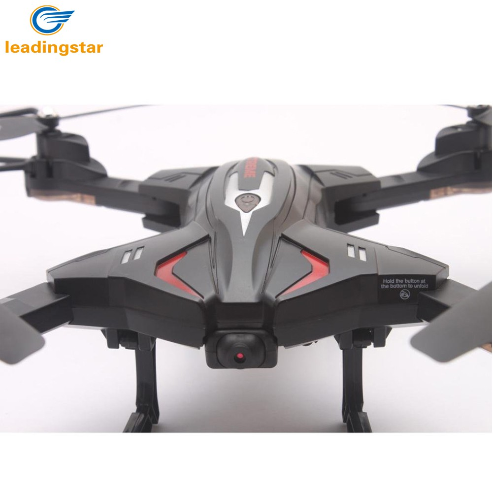 LeadingStar Foldable RC Quadcopter font b Drone b font Remote Controller LED 4 Channels Altitude Hold