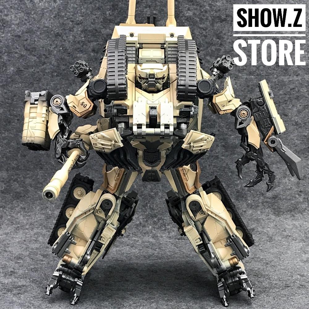 New Transform Toy Dream Factory GOD-02S Tank Warrior Desert Colour In stock