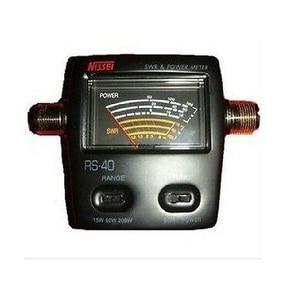 New Nissei RS 40 V/UHF 200W SWR & Power Meter (140-150 & 430-450mhz)