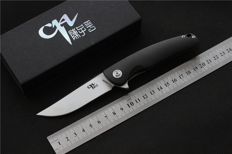 CH3006 folding pocket knife 154CM Satin Blade 7075 Aluminum Handle camping knife outdoor EDC tools gift utility Survival Knives vellance classic fixed blade knife 154cm blade g10 handle outdoor survival camping knife multi tactical hiking knives edc tools