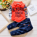 Цифровая Печать Мальчиков Комплект Одежды Детская Одежда 2017 Новые Поступления Детской Одежды Ребенка Малыша Мальчиков Костюмы roupas infantis