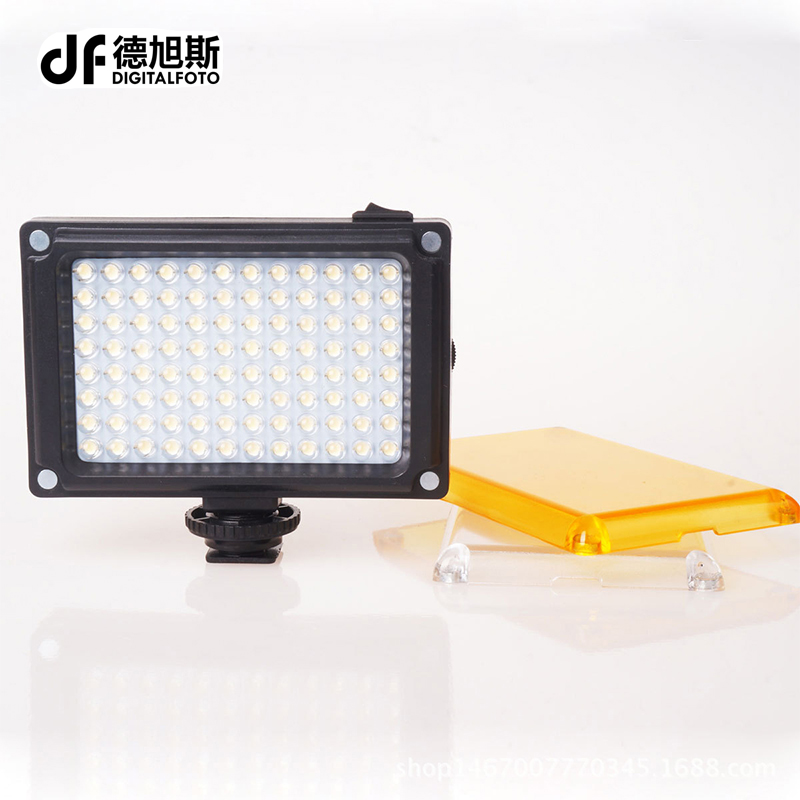 Mini LED Video Light Photo Lighting on Camera Hotshoe Dimmable LED Lamp for Canon Nikon Sony