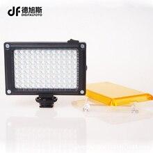 Мини светодиодный видео фото освещения на Камера Горячий башмак затемнения светодиодные лампы для Canon Nikon видеокамер Sony DV DSLR YouTube