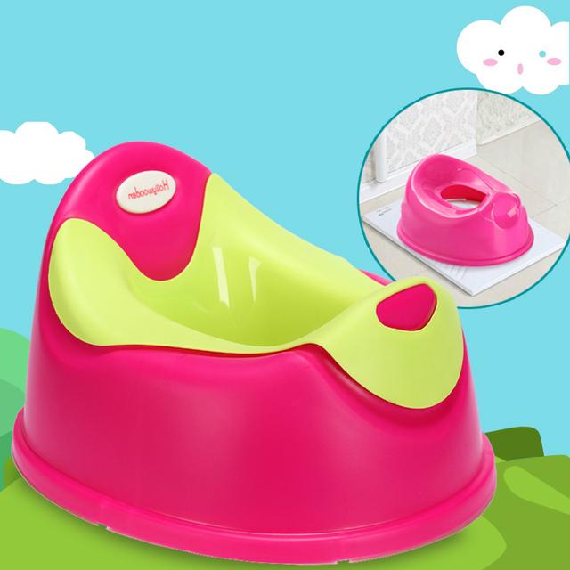 Venta caliente Bebé Niños Bebé Higiénico tapa del Inodoro Orinal Portátil Niñas Comfortalbe Formación Los Niños Potty Urinario Inodoro Asiento Taburete