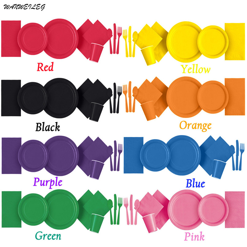 NEW Tableware Plates <font><b>Cups</b></font> Napkins Tablecovers Plastic Disposable Tablecloth Birthday <font><b>Party</b></font> Decor Supplies Free Shipping 3E02#F#