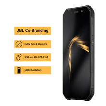 OFFICIAL AGM A9 JBL Co-Branding 5.99″ FHD+ 4G+64G Android 8.1 Rugged Phone 5400mAh IP68 Waterproof Smartphone Quad-Box Speakers
