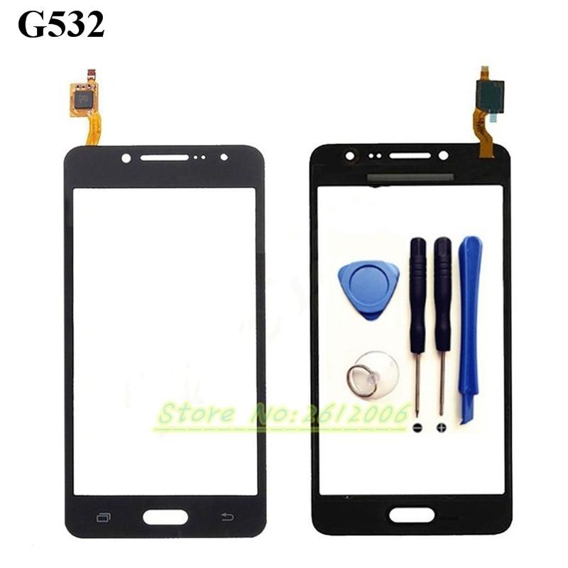 """imágenes para Alta calidad 5.0 """"Para Samsung Galaxy J2 Primer SM-G532 G532 Pantalla Táctil Digitalizador Del Sensor Frontal Lente de Cristal del panel + herramientas"""